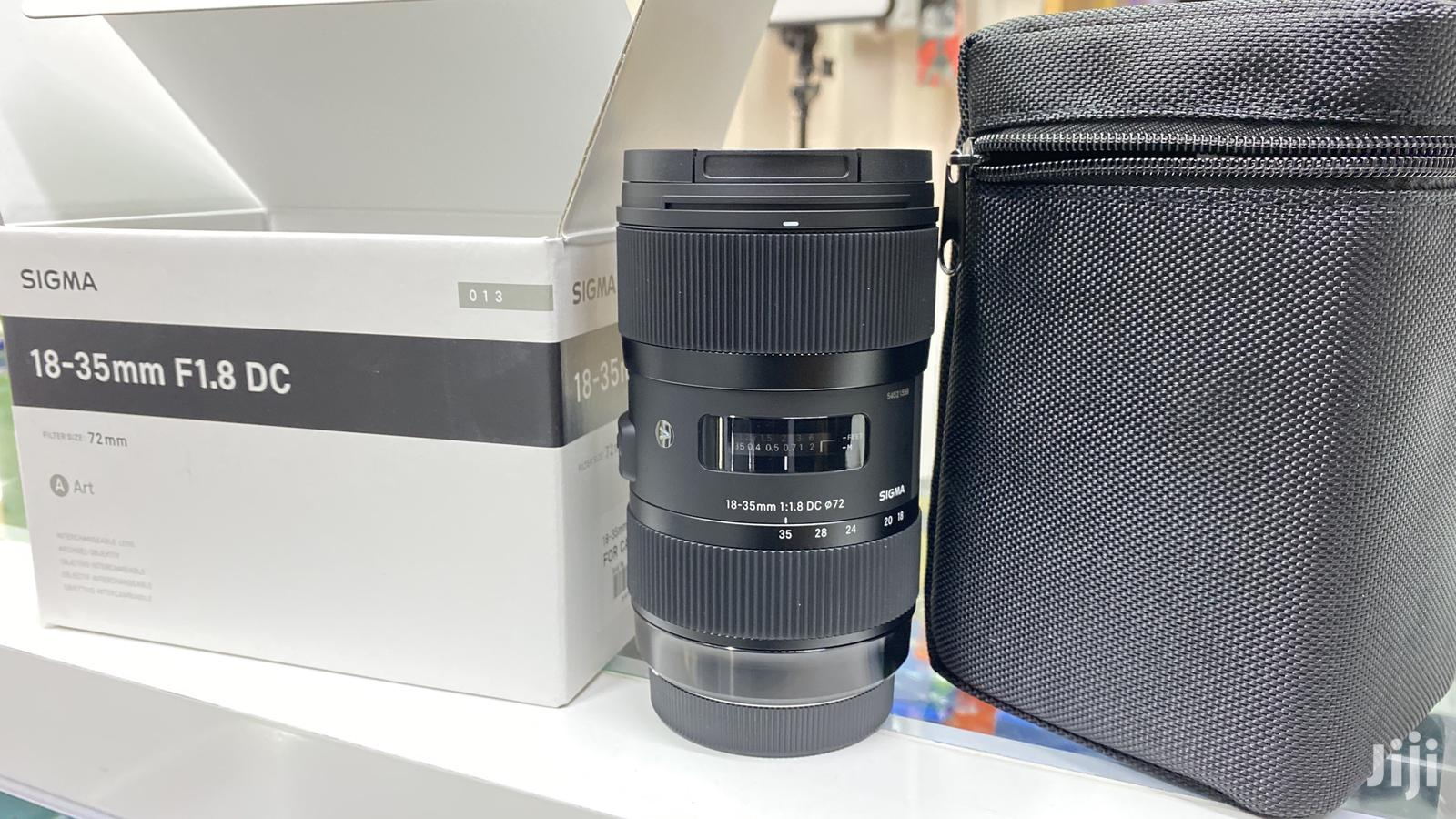 Sigma 18-35mm F/1.8 DC HSM Art Lens For Canon EF   Accessories & Supplies for Electronics for sale in Nairobi Central, Nairobi, Kenya