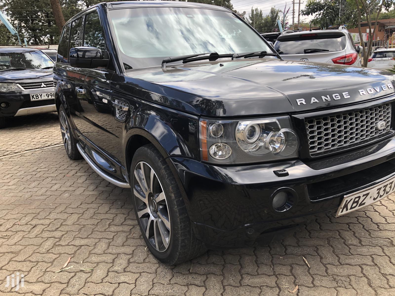 Archive: Land Rover Range Rover Vogue 2007 Black