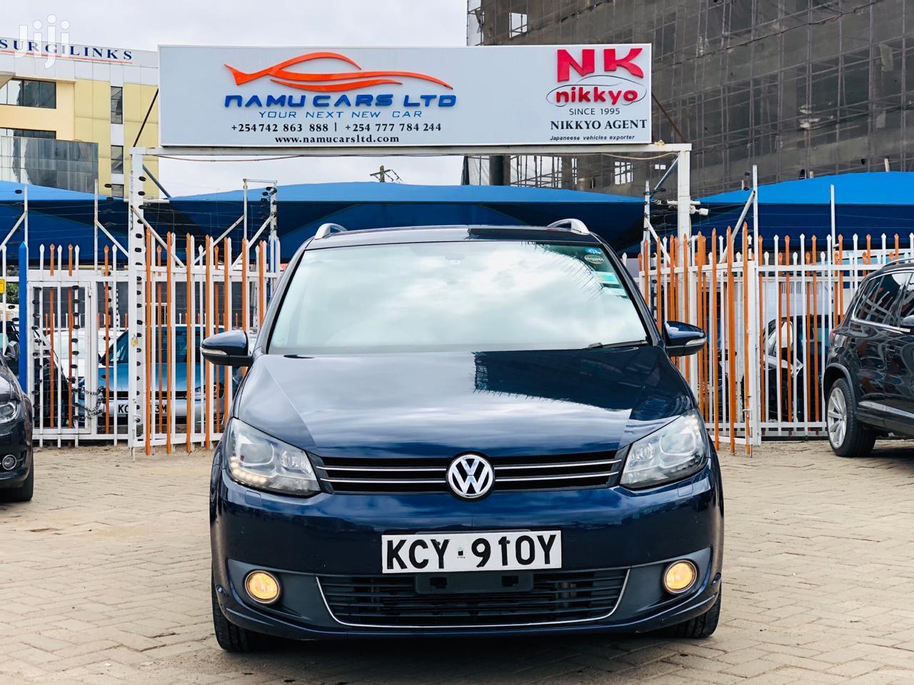 Volkswagen Touran 2013 Blue