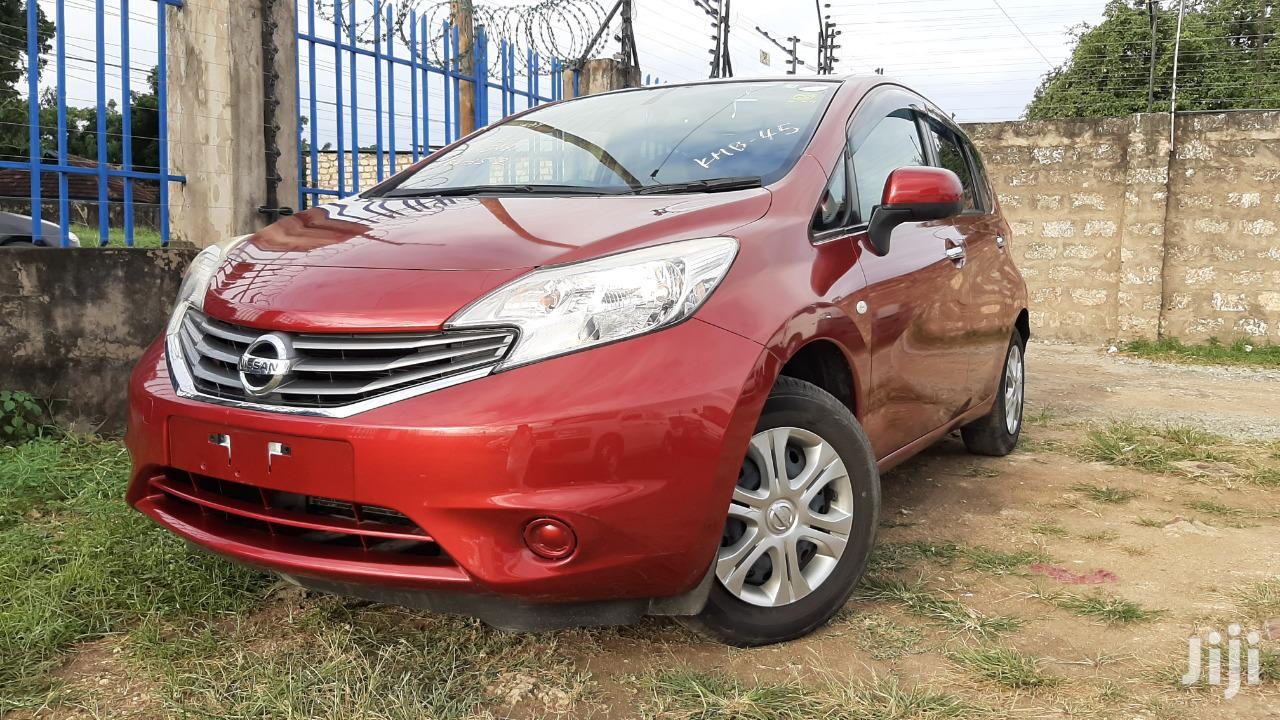 Archive: Nissan Note 2013 Red