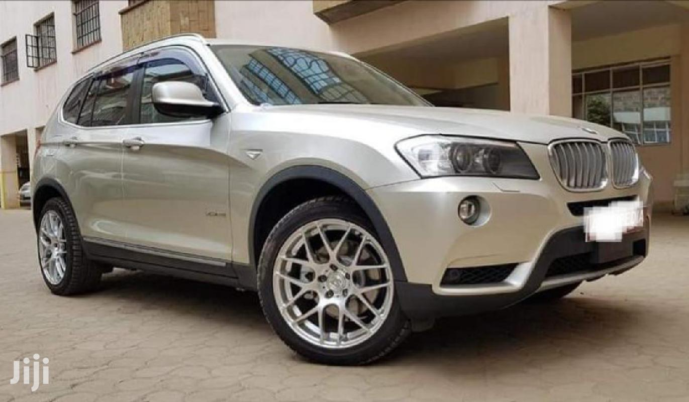 BMW X3 2011 Gold