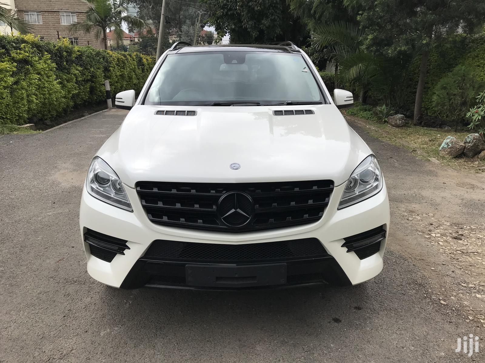 Mercedes-Benz M Class 2013 White