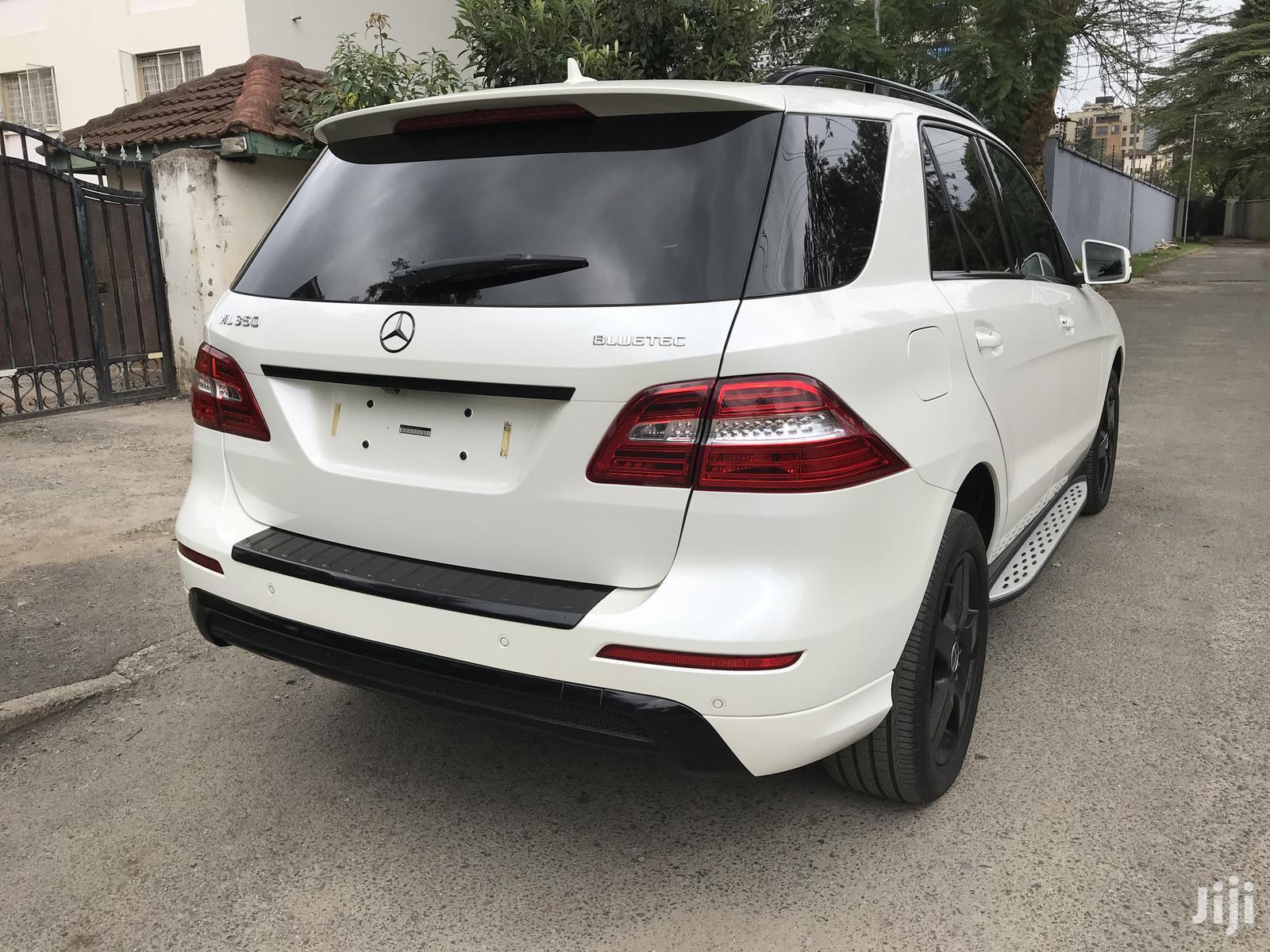 Mercedes-Benz M Class 2013 White   Cars for sale in Kilimani, Nairobi, Kenya