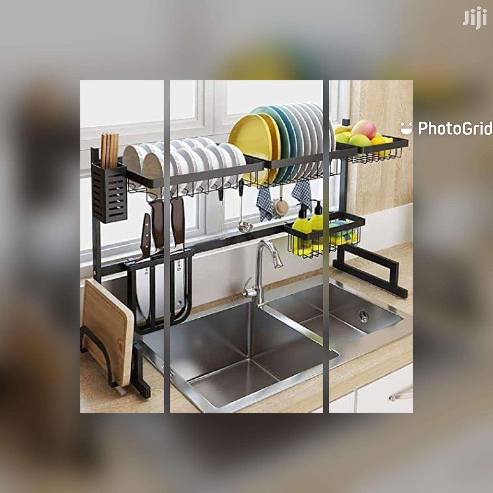 *Over The Sink Dish Drying Rack