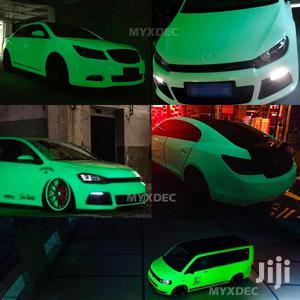 Glow In The Dark Car Sticker. Car Cover. Luminous Car Cover