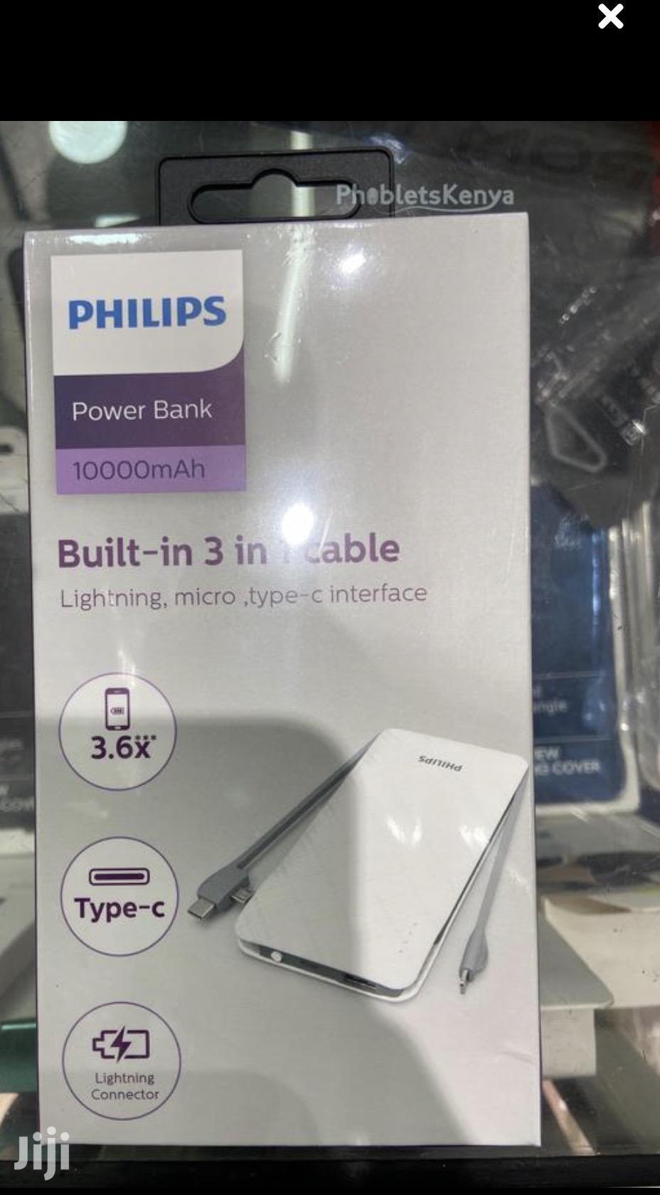 Philips Portable 10000mah Capacity