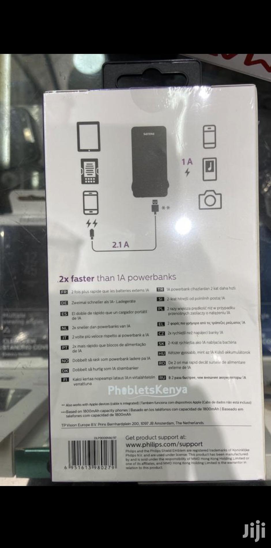 Philips Portable 10000mah Capacity   Accessories for Mobile Phones & Tablets for sale in Nairobi Central, Nairobi, Kenya