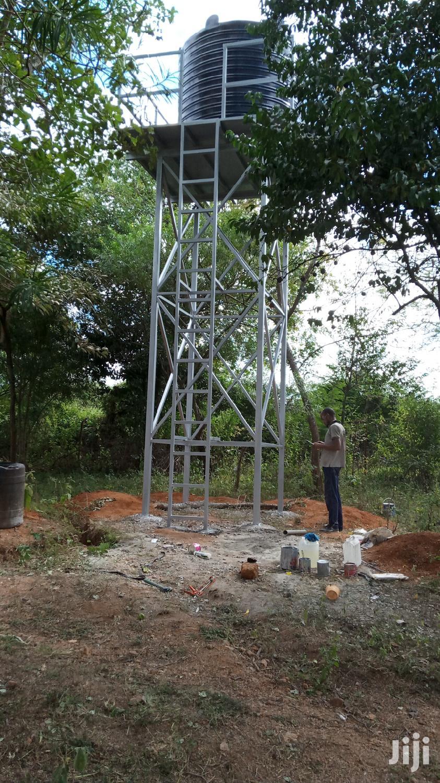 Tank Tower, Raised Tank Tank Platform Water Tower