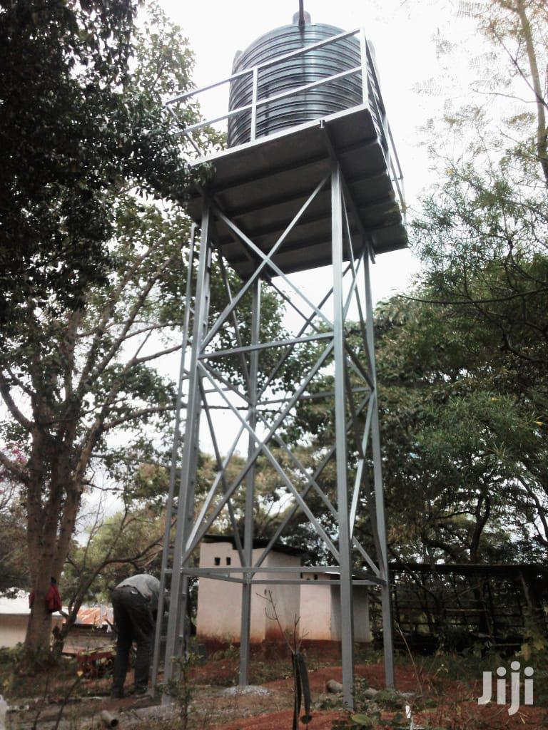 Tank Tower, Raised Tank Tank Platform Water Tower | Plumbing & Water Supply for sale in Nzaui/Kilili/Kalamba, Makueni, Kenya