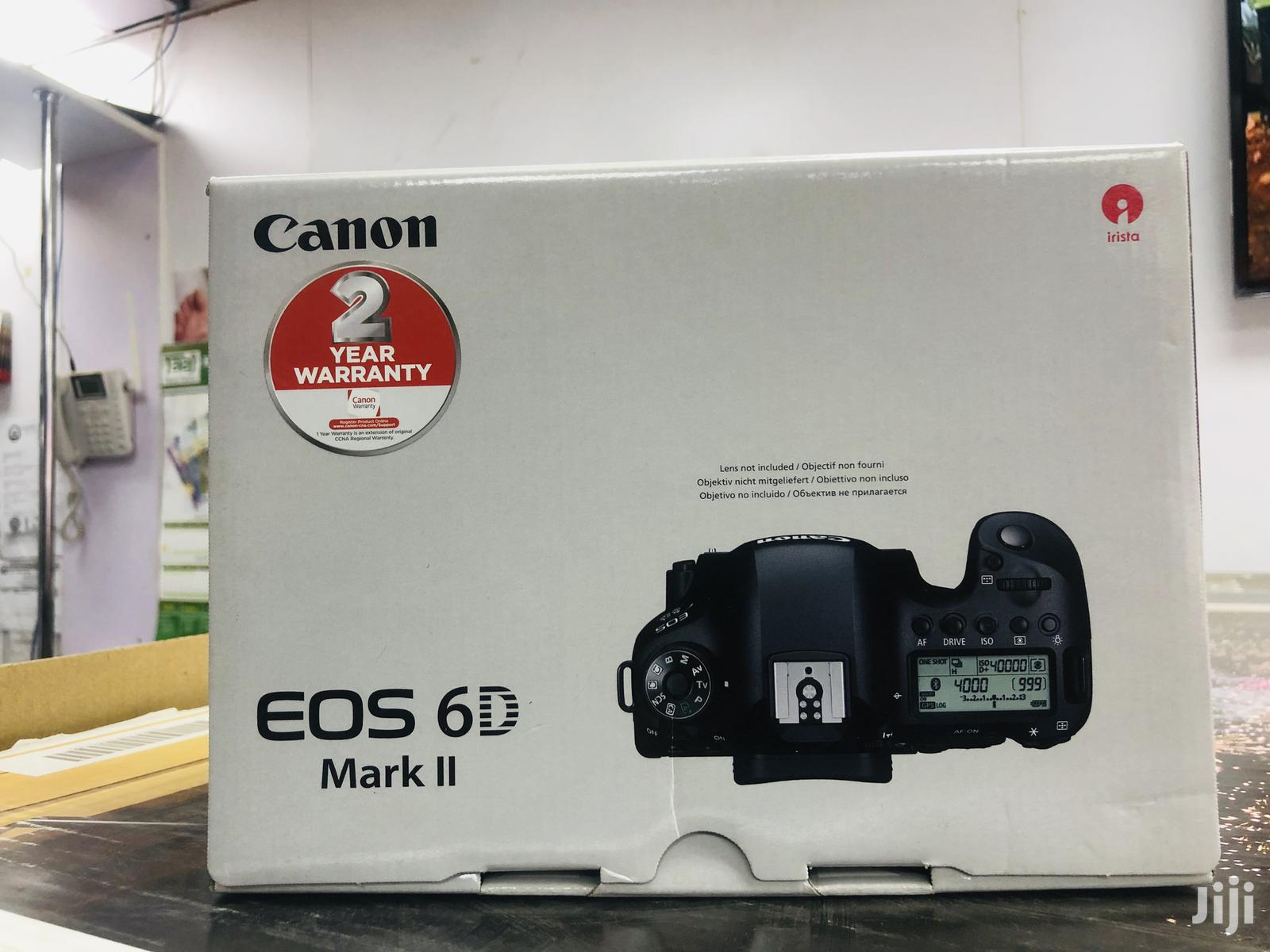 Canon EOS 6D Mark Ii | Photo & Video Cameras for sale in Nairobi Central, Nairobi, Kenya