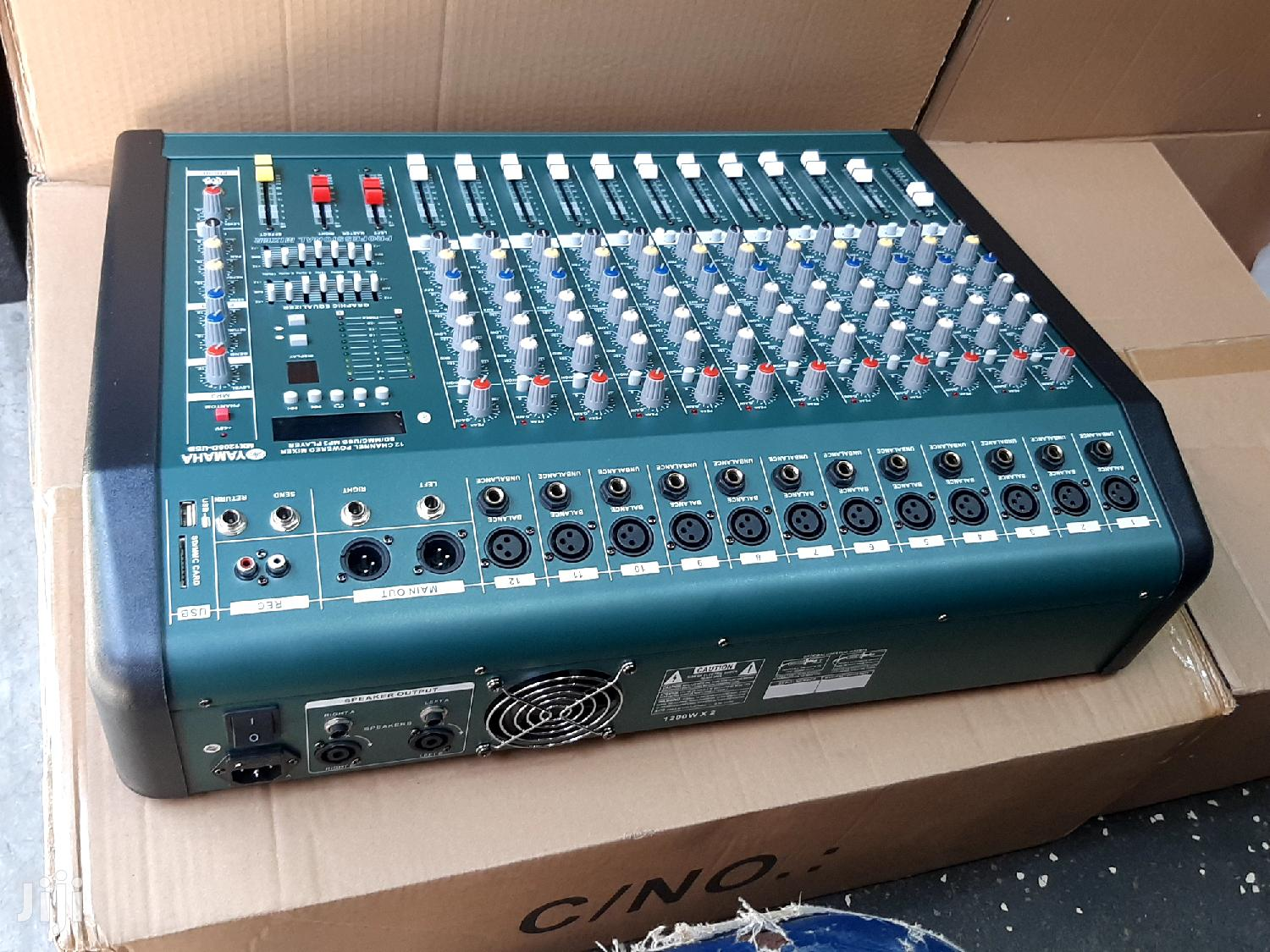 12channel Yamaha Powered Mixer/Amplifier