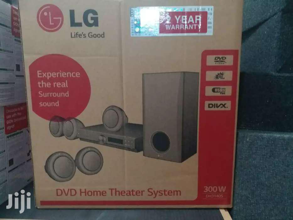 Archive: LG DVD 5.1  Hometheatre  300 Watts Original In Shop DVD/Usb/Aux/Fm/
