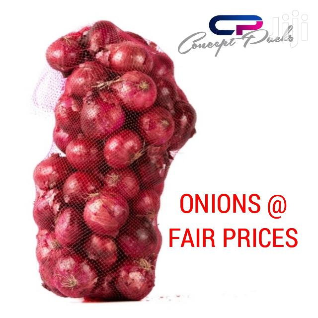 Quality Fresh Onions 20kgs at 1100