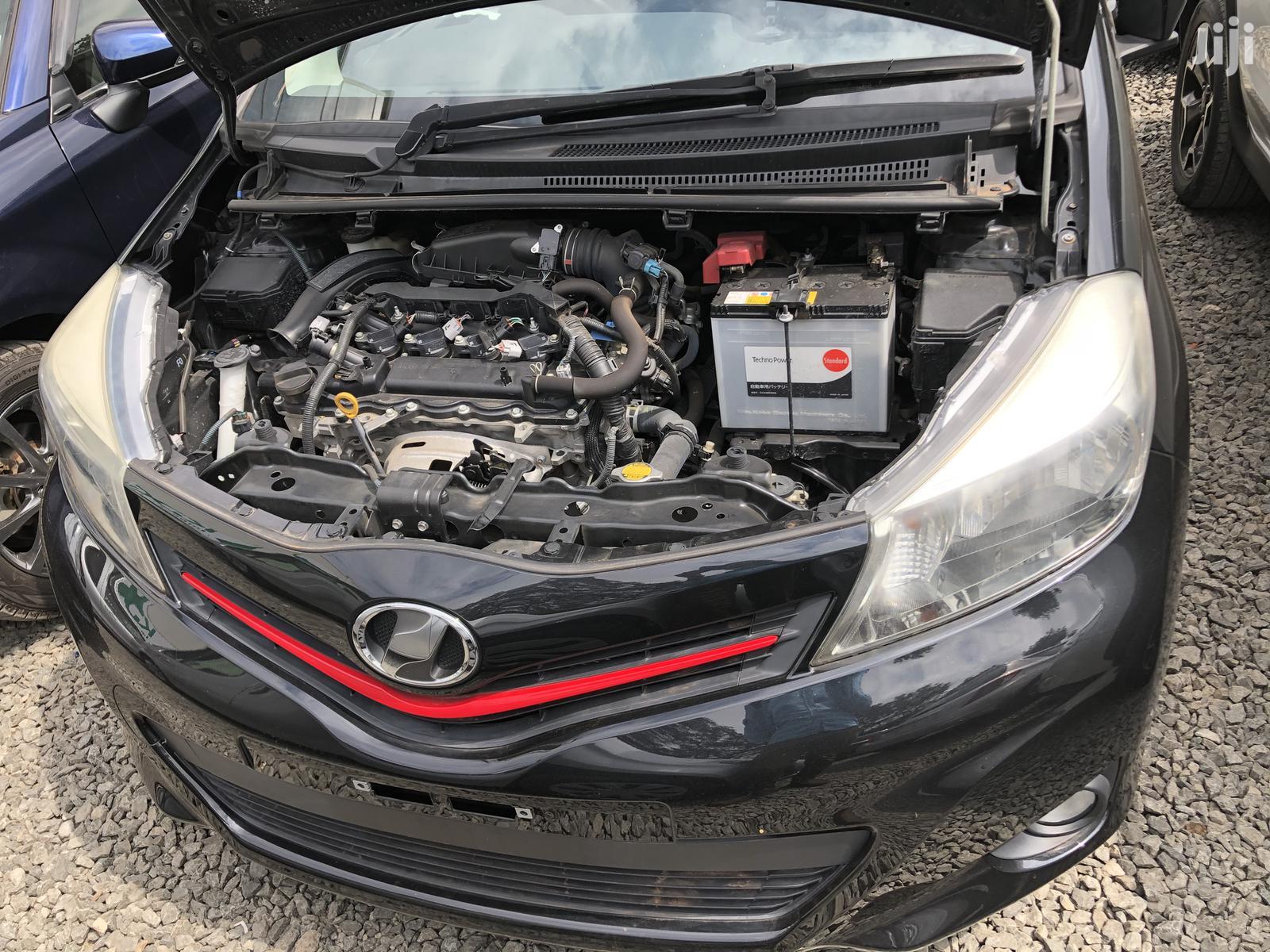 Archive: Toyota Vitz 2013 Black