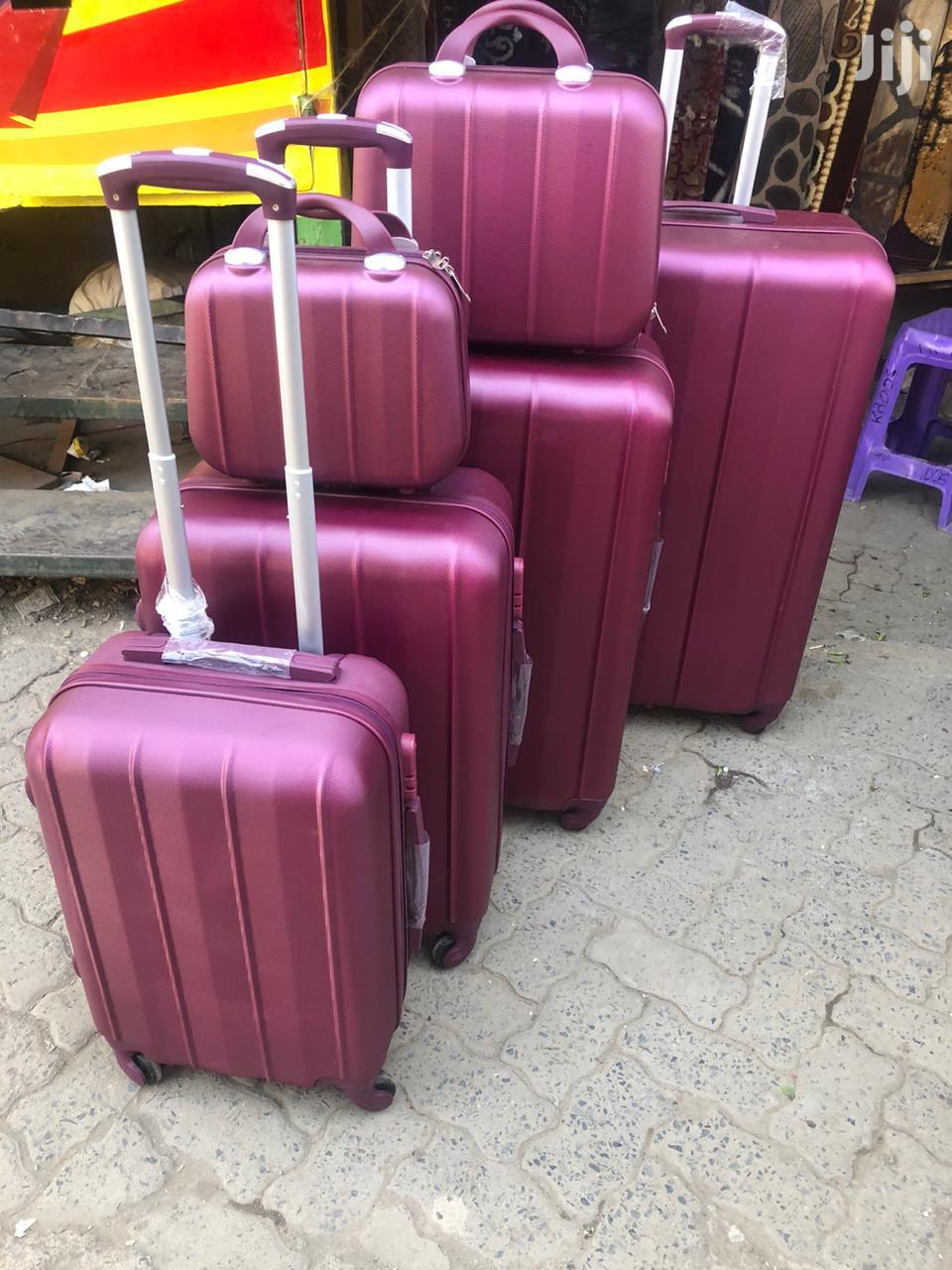 6 Pcs Luggage Suitcases