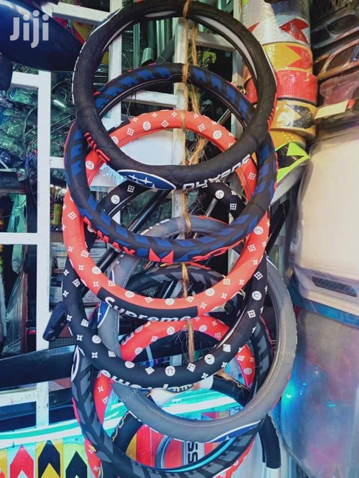 Universal Fit Branded Steering Wheel Cover | Vehicle Parts & Accessories for sale in Umoja II, Nairobi, Kenya