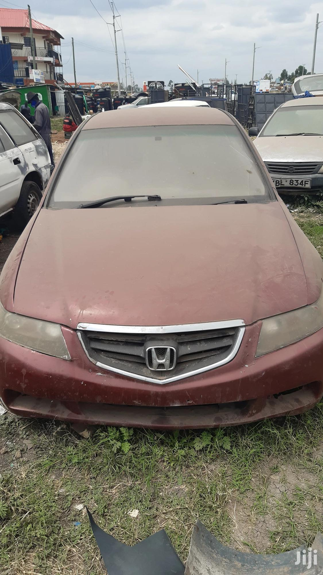 Archive: Honda Accord 2005 Automatic Red