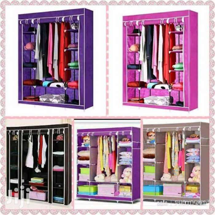 Get Quality Wooden Frame Portable Wardrobes