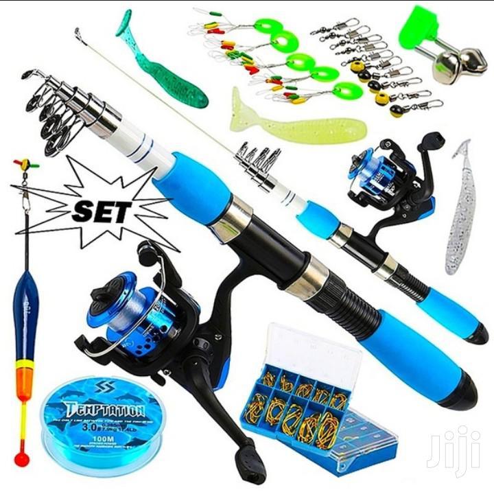 Full Set Fishing Rod And Fishing Reel