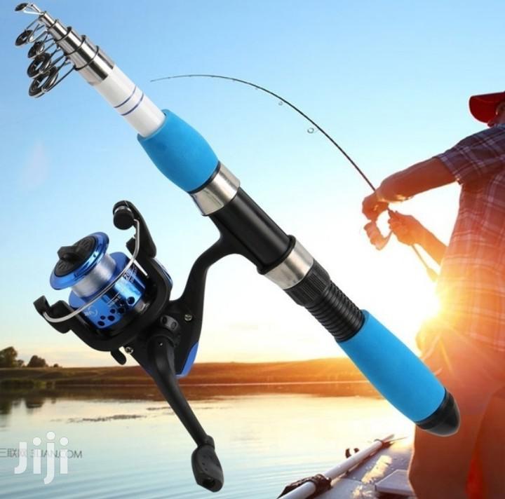 Full Set Fishing Rod And Fishing Reel | Camping Gear for sale in Kilimani, Nairobi, Kenya