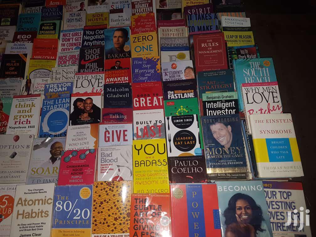 Books, Books, Hard Copy.