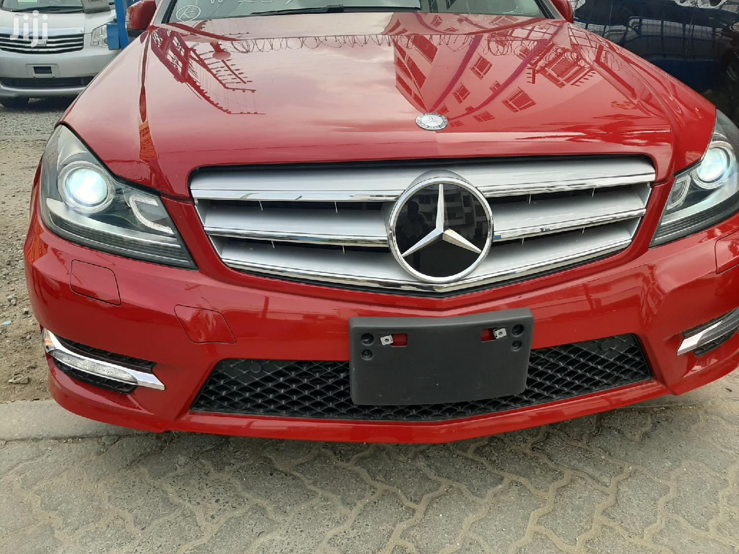 Mercedes-Benz C200 2013 Red | Cars for sale in Tudor, Mombasa, Kenya