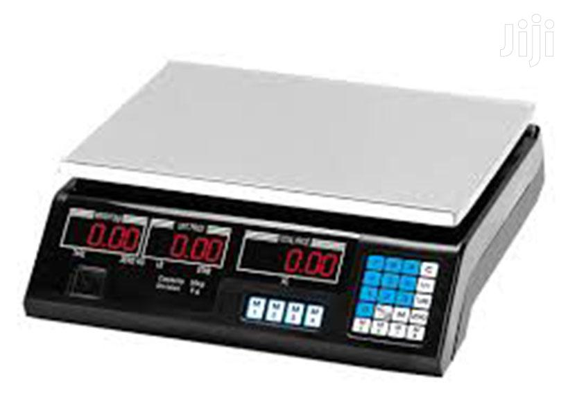 Digital ACS 30kg Electronic Price Computing Weighing Scale