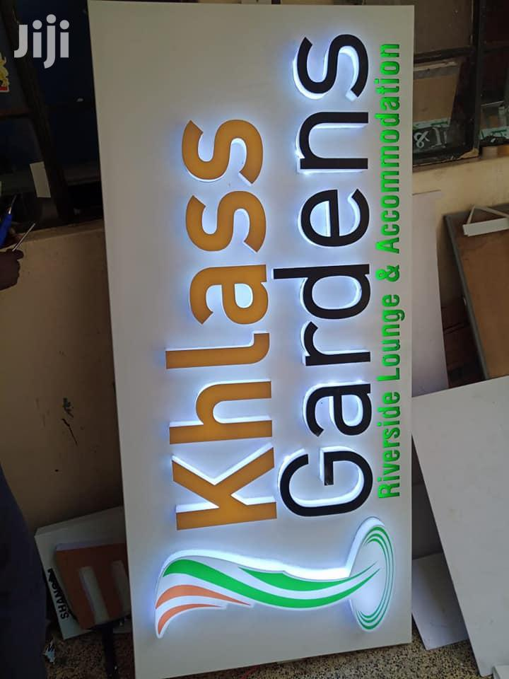 Lightbox And 3D Signage | Building & Trades Services for sale in Nairobi Central, Nairobi, Kenya