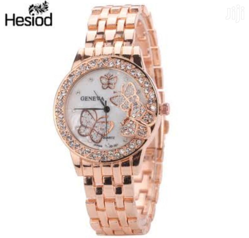 Geneva Butterfly Ladies Wrist Watch | Watches for sale in Nairobi Central, Nairobi, Kenya