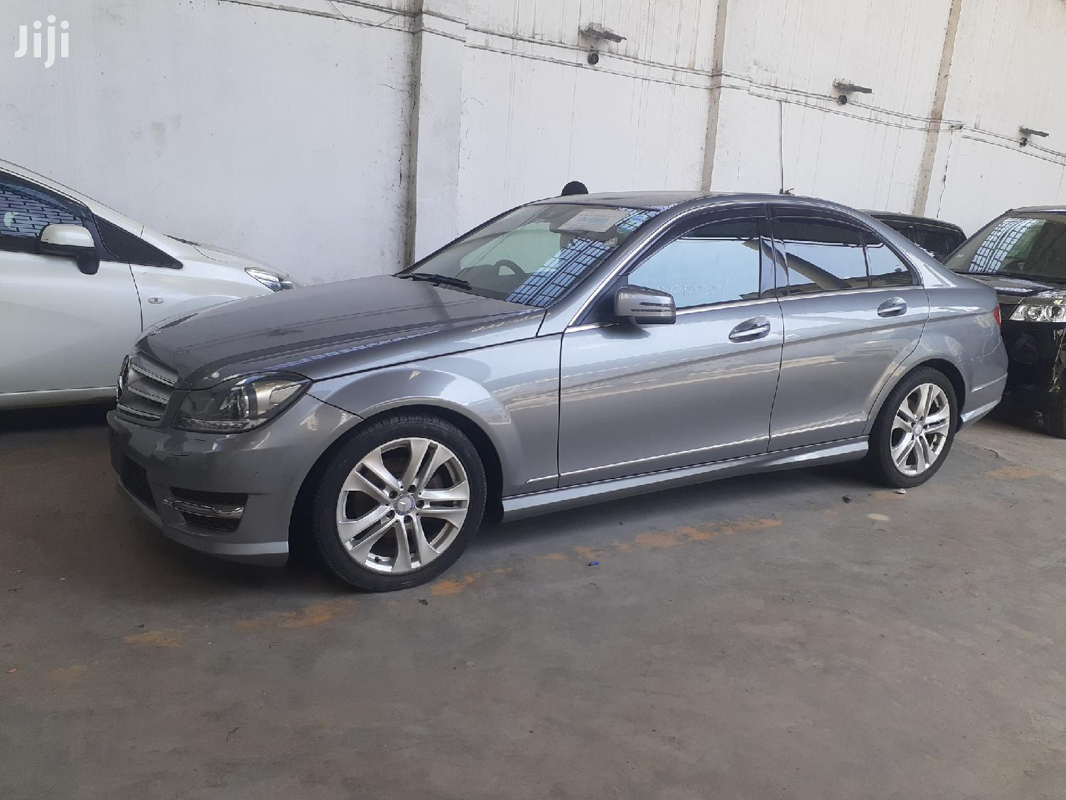 New Mercedes-Benz C200 2013 Silver | Cars for sale in Shimanzi/Ganjoni, Mombasa, Kenya