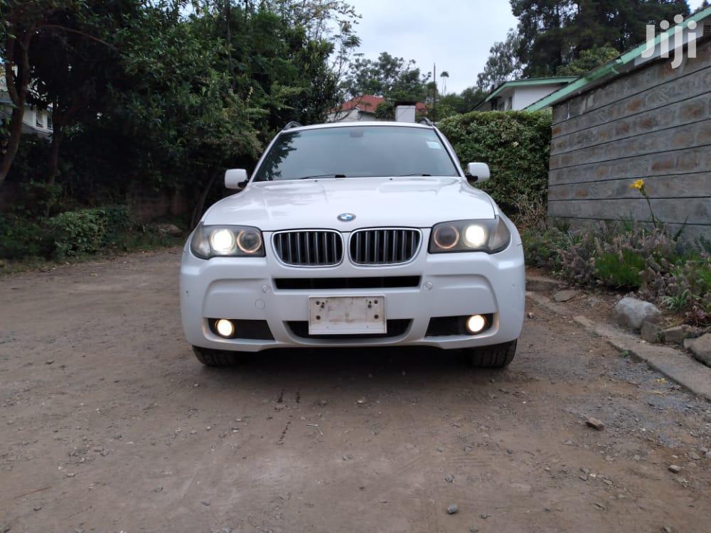 BMW X3 2007 White