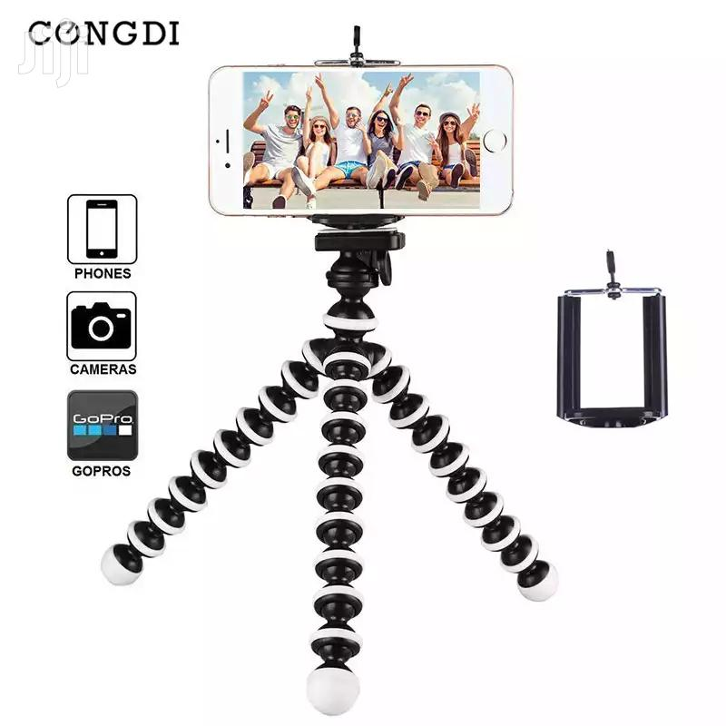 Small Octopus Flexible Tripod for Mobile Phones With Holder   Accessories for Mobile Phones & Tablets for sale in Nairobi Central, Nairobi, Kenya