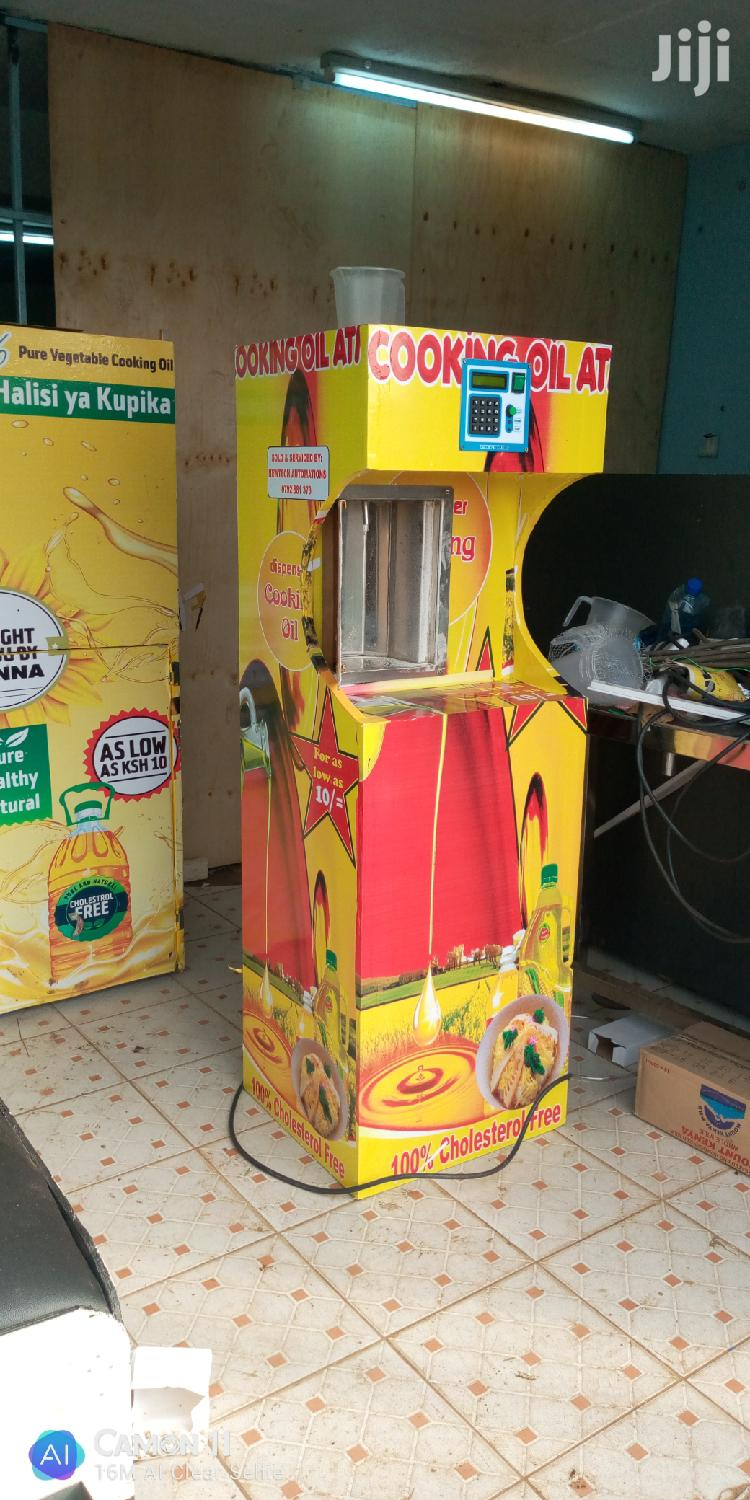 Archive: Salad ATM,,Milk, Water Vending Machine,