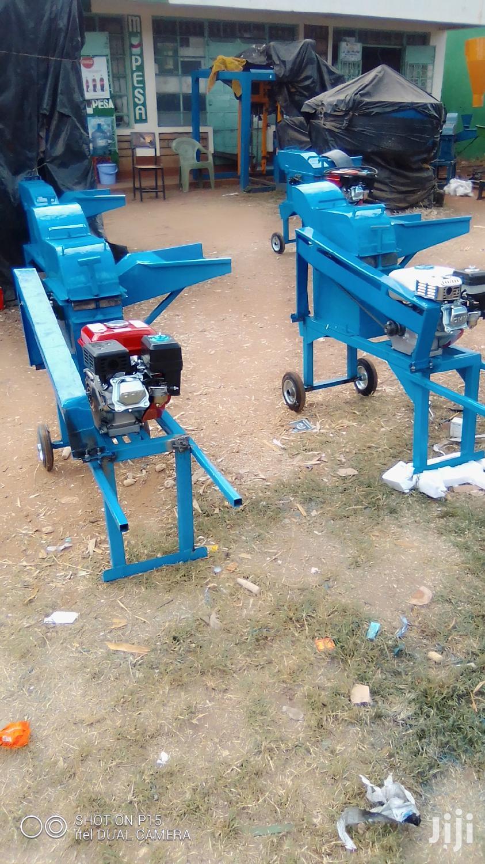 Petrol Engine Chopping Machine