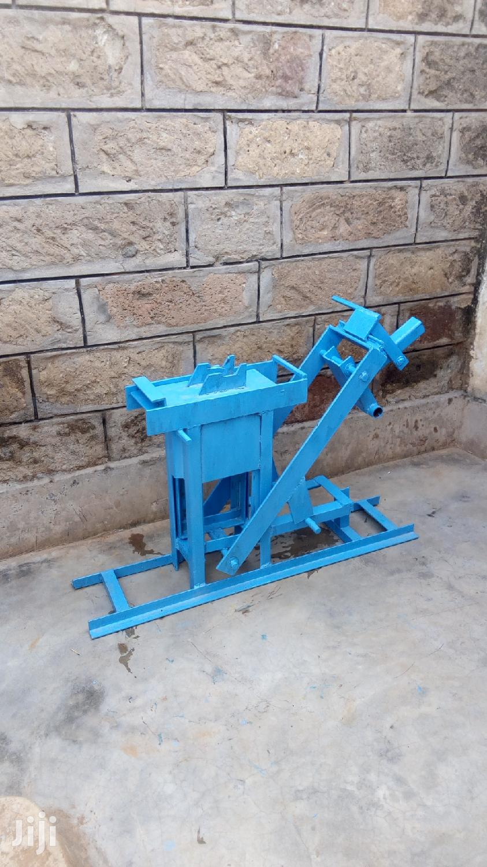 Manual Interlocking Brick Machines