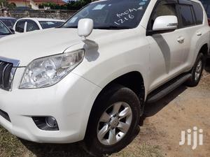 Toyota Land Cruiser Prado 2013 White   Cars for sale in Mombasa, Mvita