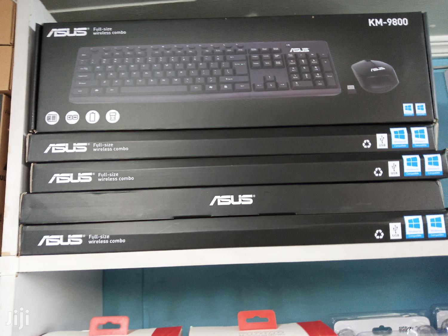 Km-9800 ASUS Keyboard and Mouse | Computer Accessories  for sale in Nairobi Central, Nairobi, Kenya