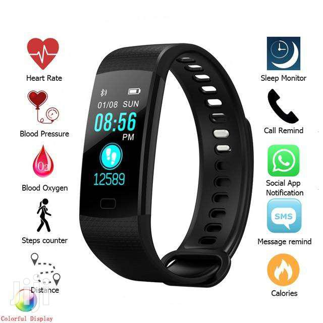 Y50 Sports Smart Bracelet Watch With Heart Rate Blood Pressure Monitor
