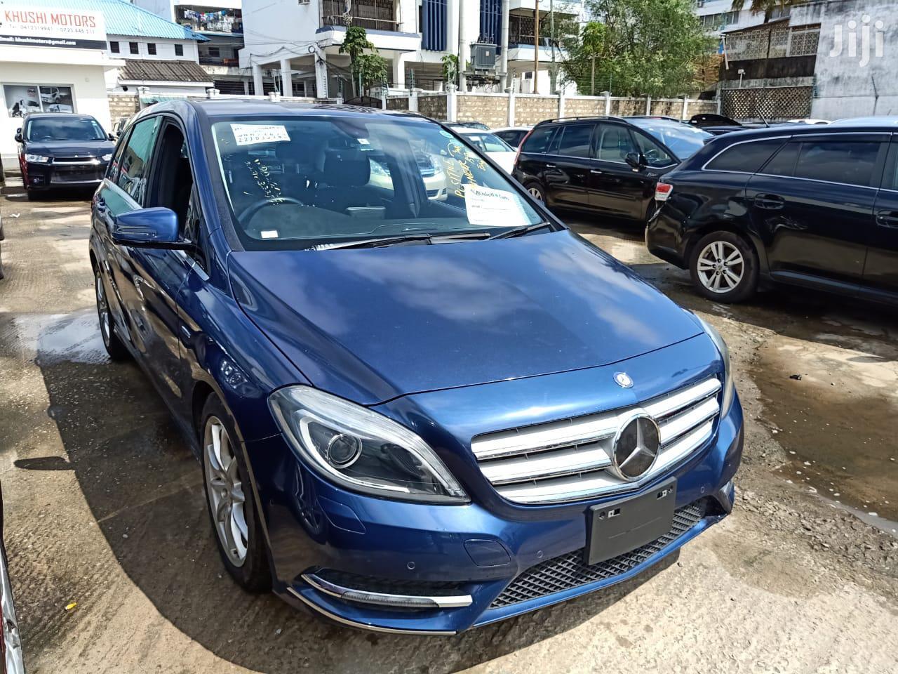 Mercedes-Benz B-Class 2013 Blue