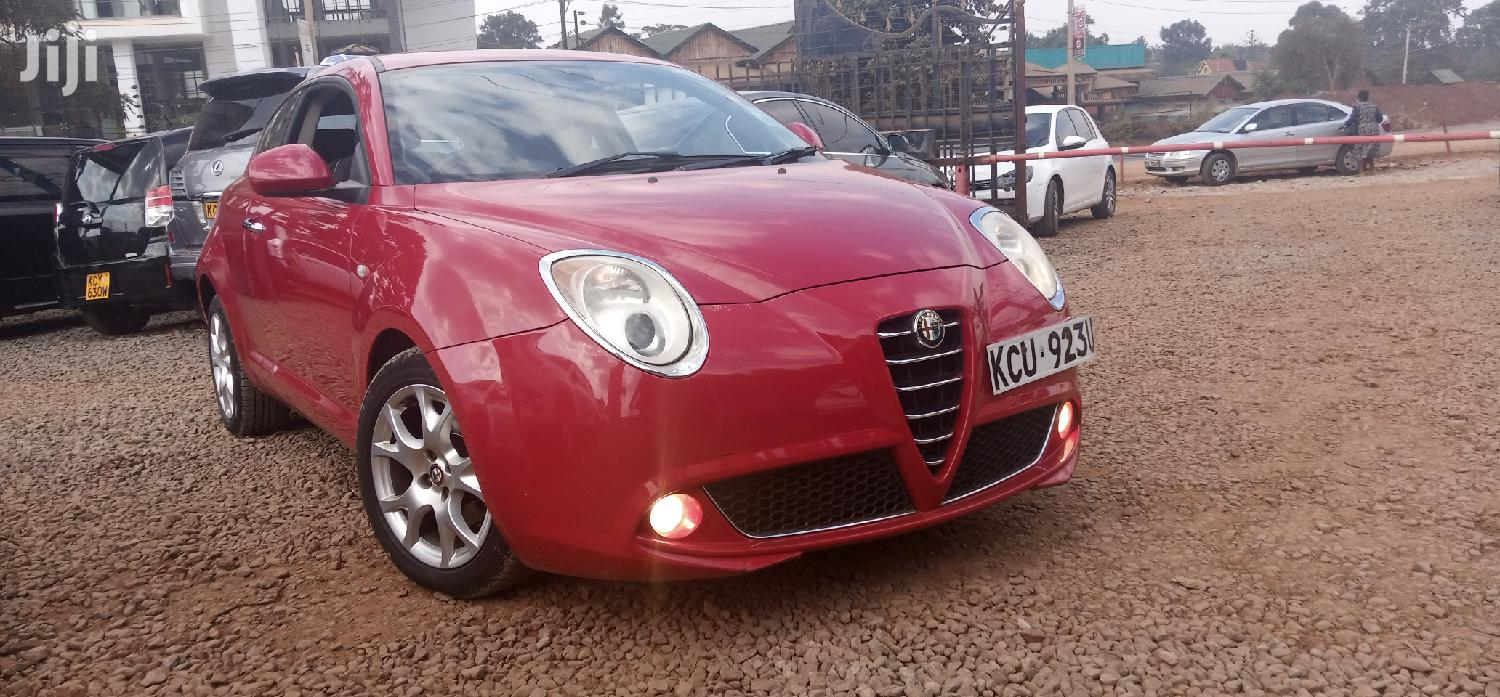 Archive Alfa Romeo Mito 2012 1 4 Tb 16v Red In Roysambu Cars Hamilton Macharia Jiji Co Ke