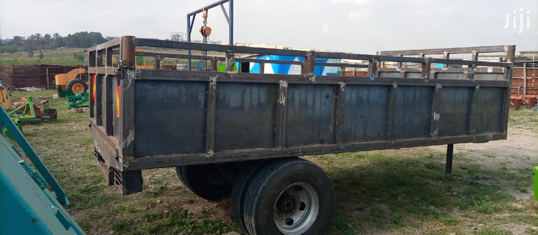 Tractor Trailer 8tonnes
