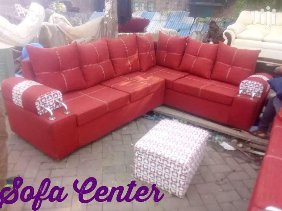 Archive: Elegant Modern Quality Ready Made Sectional Sofa With Chrome Arms