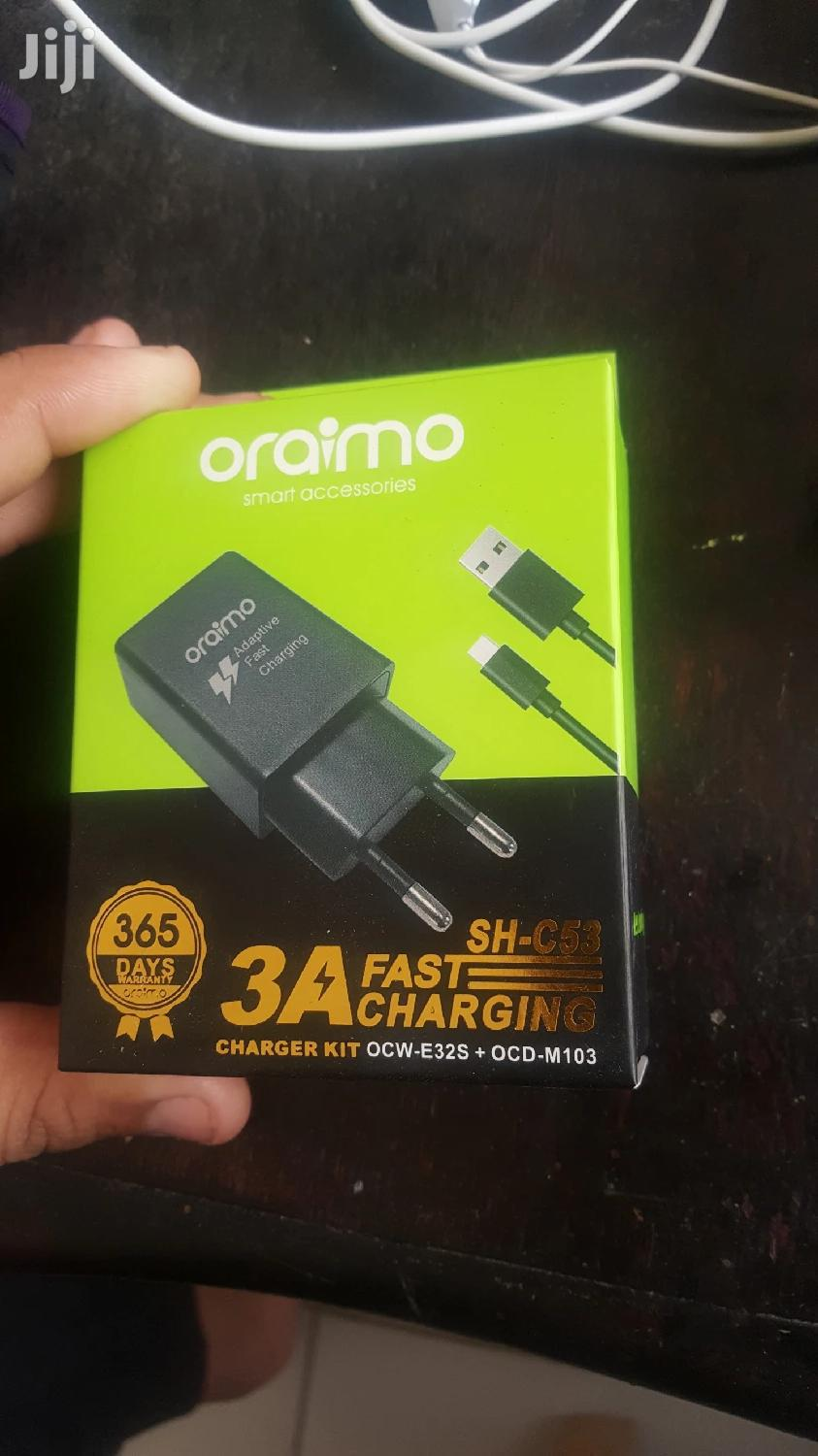Oraimo 2pin Fast Charger