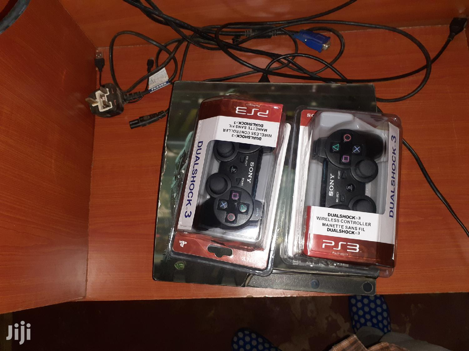 Archive: PS3 Console With 2 Brand New Gamepads