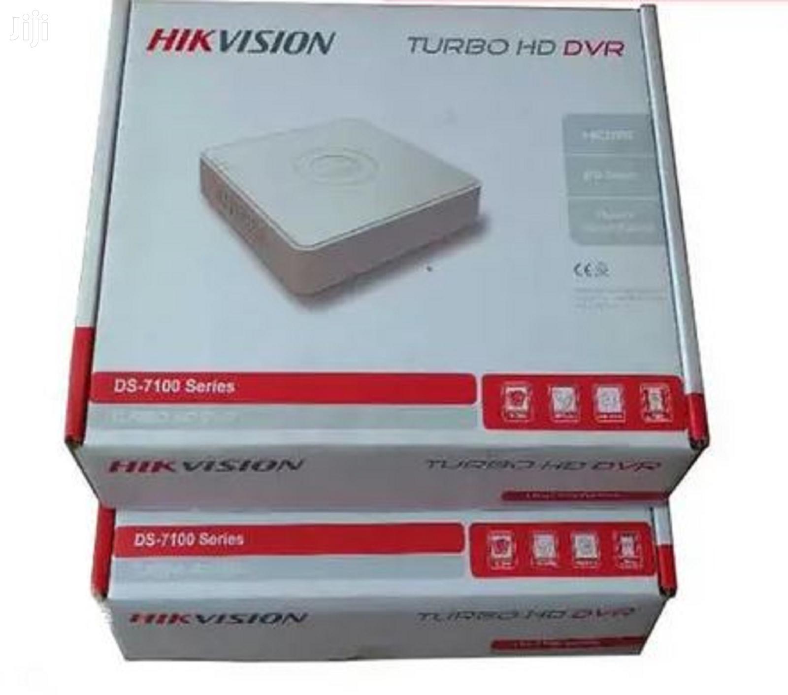 Archive: Hikvision Turbo HD 4 Channel DVR Machine
