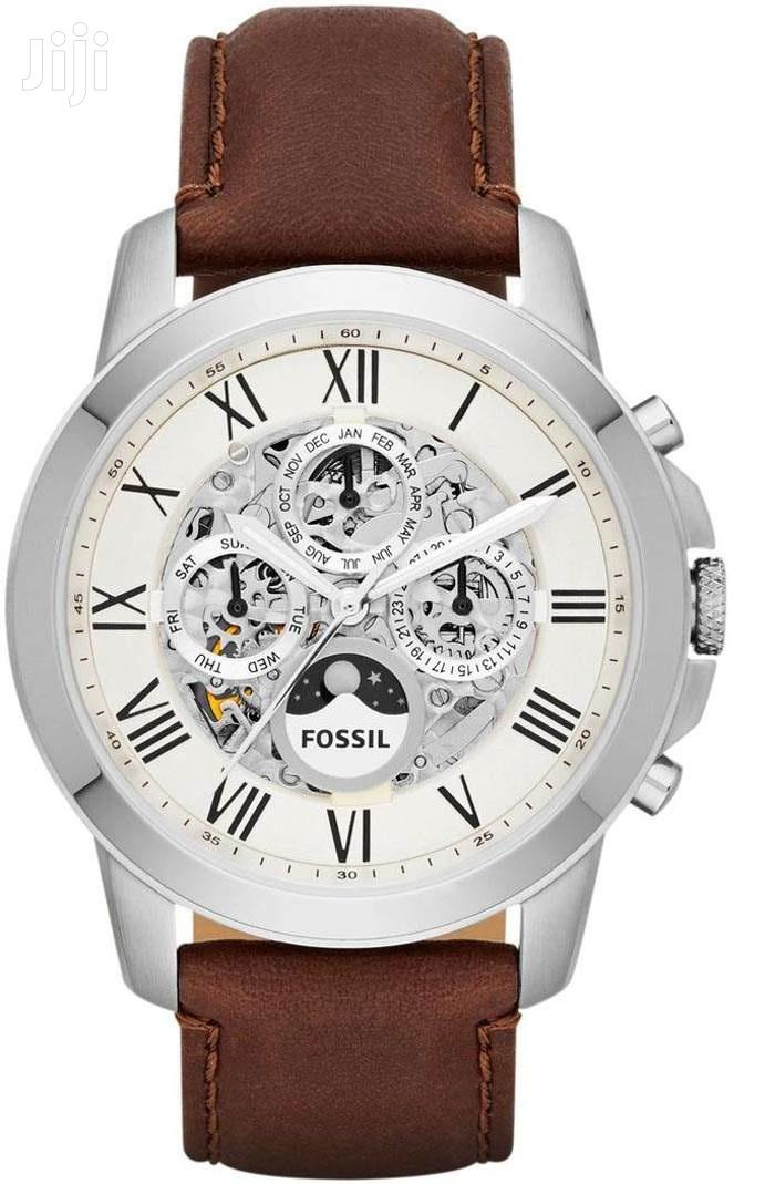 Archive: Grant Automatic Cream Dial Men's Casual Watch