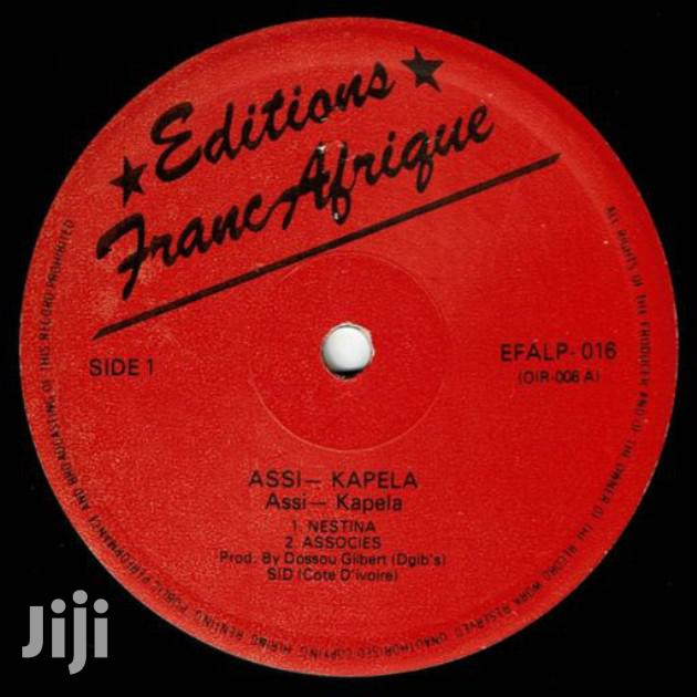 Vinyl Record Gramophone Album. Assi Kapela | CDs & DVDs for sale in Nairobi Central, Nairobi, Kenya
