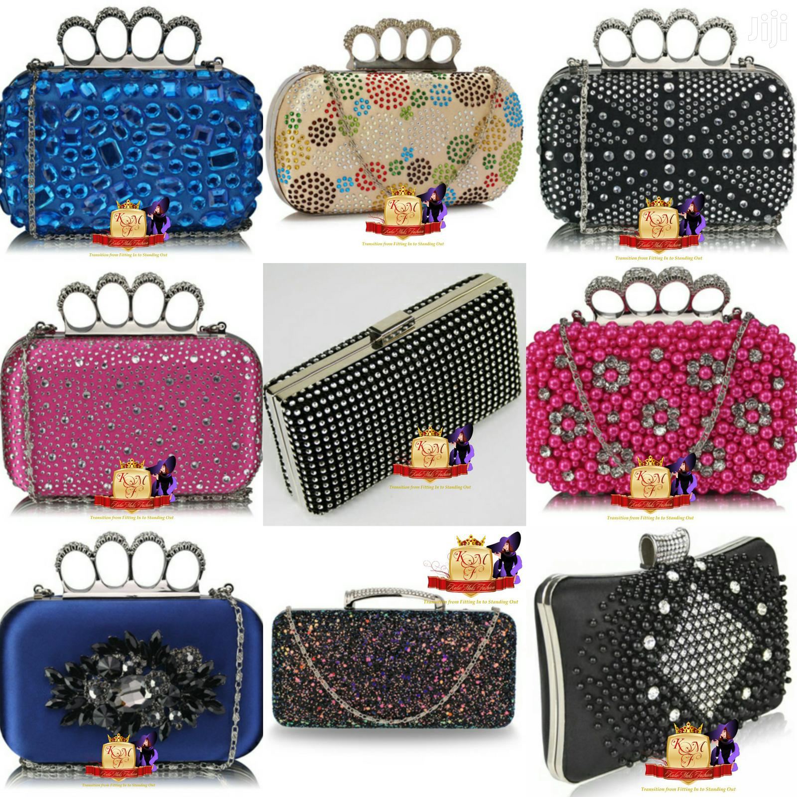 Enctrusted Clutch Bags From UK.