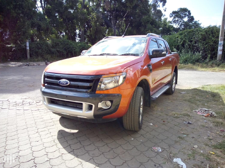 Ford Ranger 2013 Orange