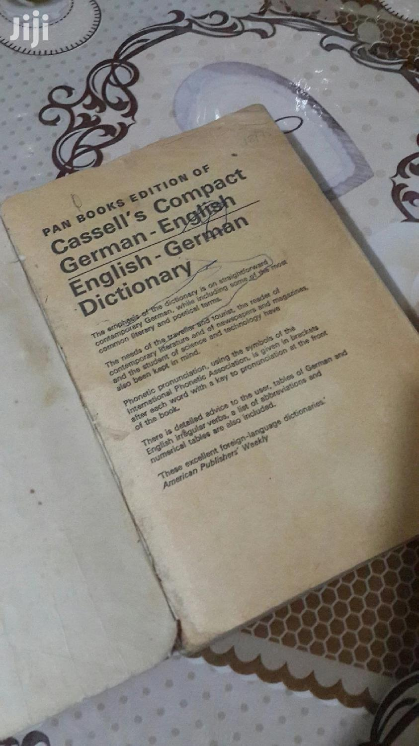 Archive: English-german Dictionary